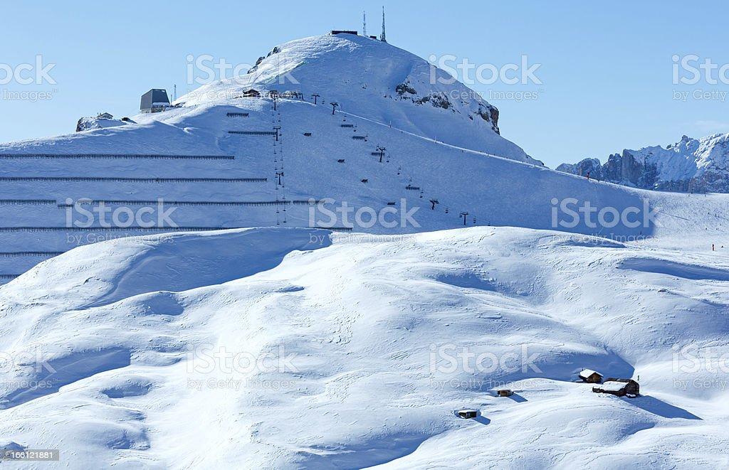 Beautiful winter mountain landscape. royalty-free stock photo