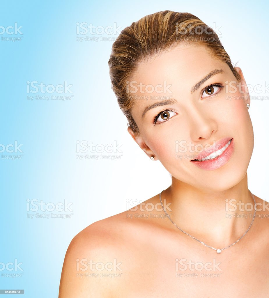 Beautiful woman. royalty-free stock photo