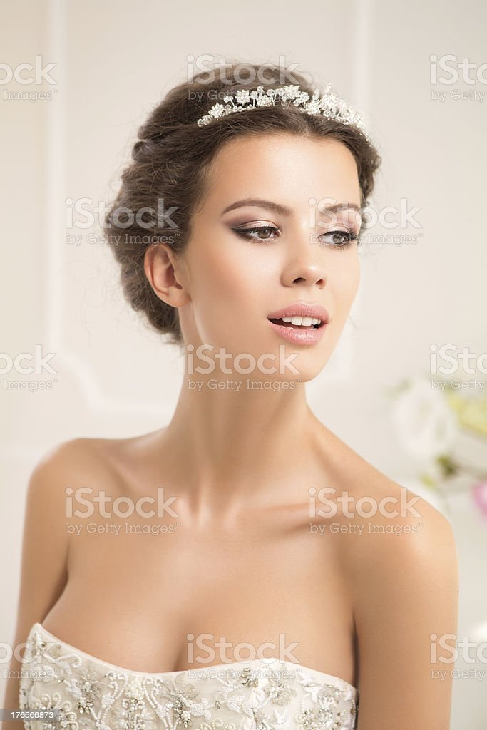 Beautiful woman. stock photo