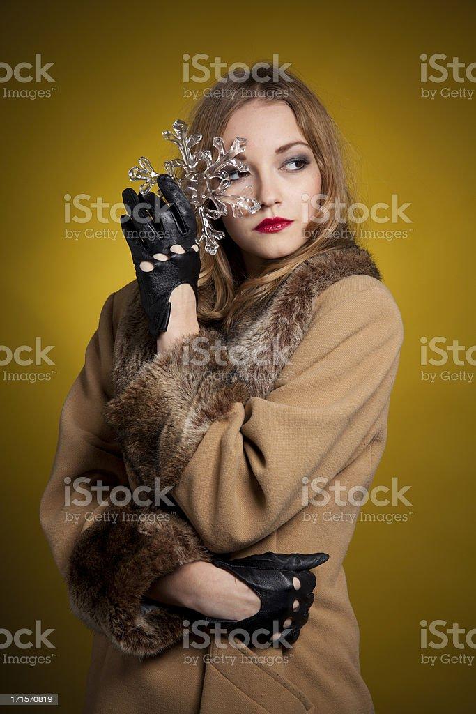 Beautiful woman Posing royalty-free stock photo