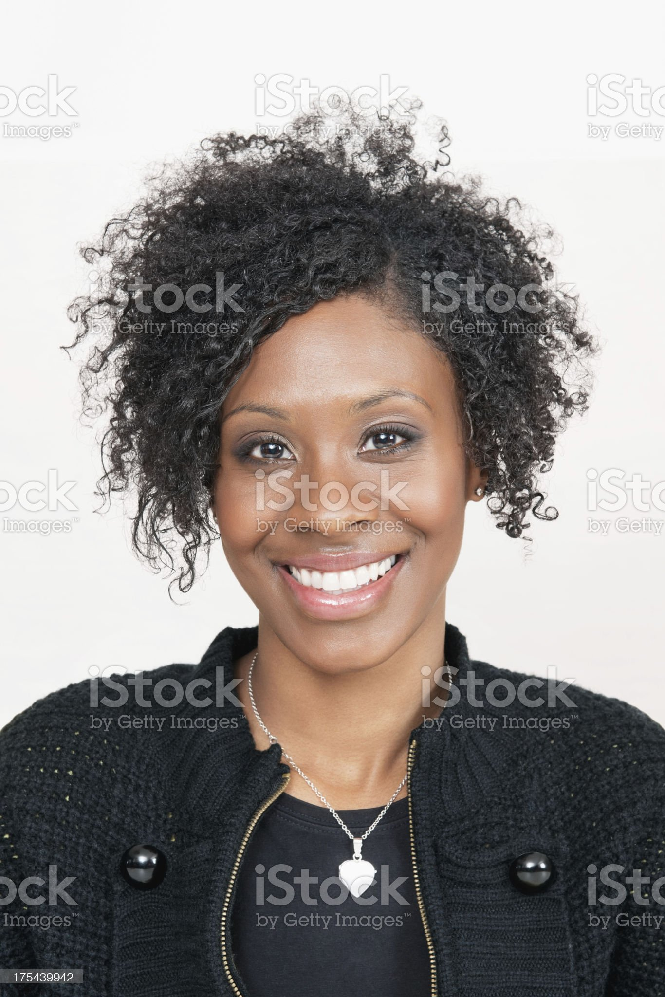 Beautiful Woman Smiling royalty-free stock photo