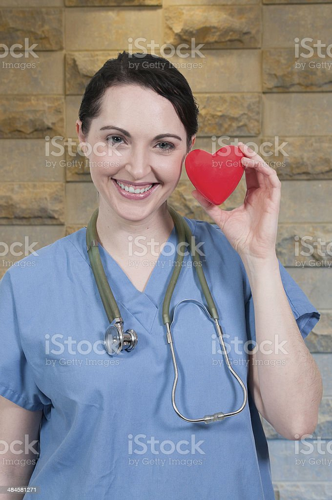 Beautiful Woman Surgeon stock photo