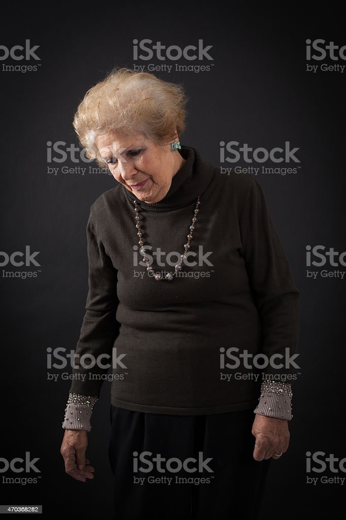 Beautiful women doing different expressions in different sets of clothes stock photo