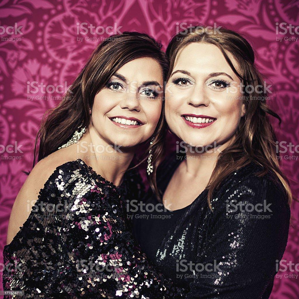 Beautiful women in studio royalty-free stock photo
