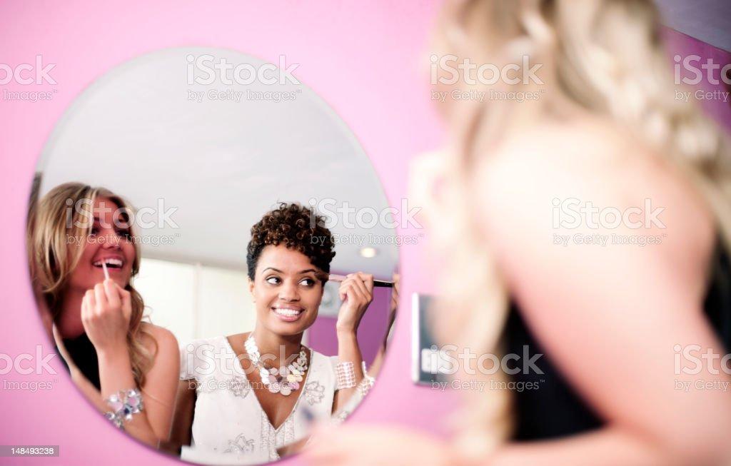 Beautiful women. stock photo