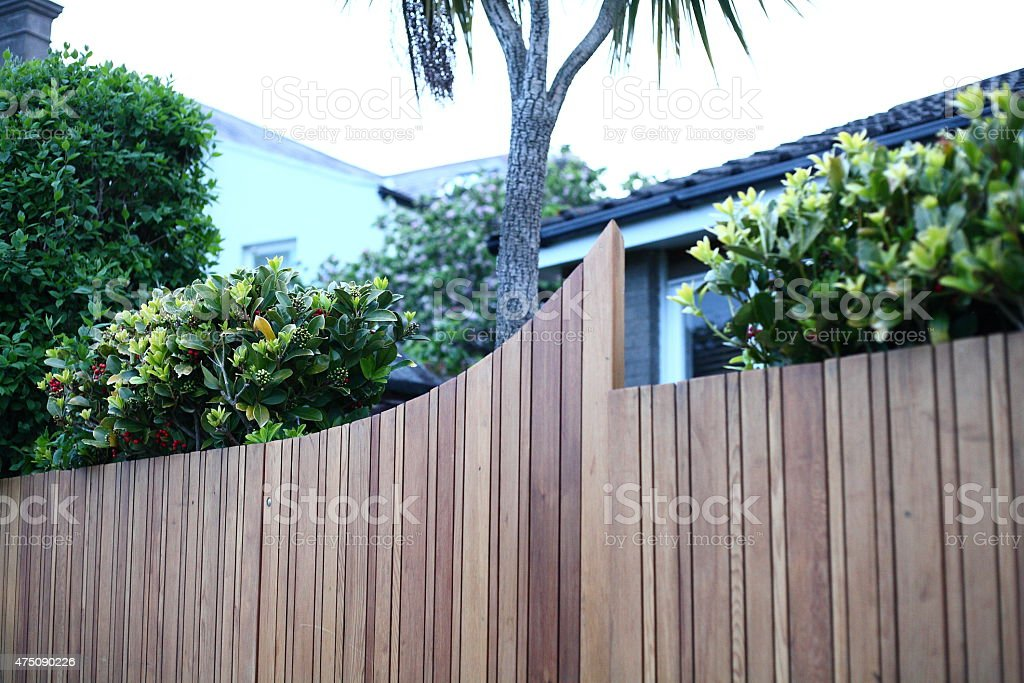 Beautiful Wooden Gate royalty-free stock photo