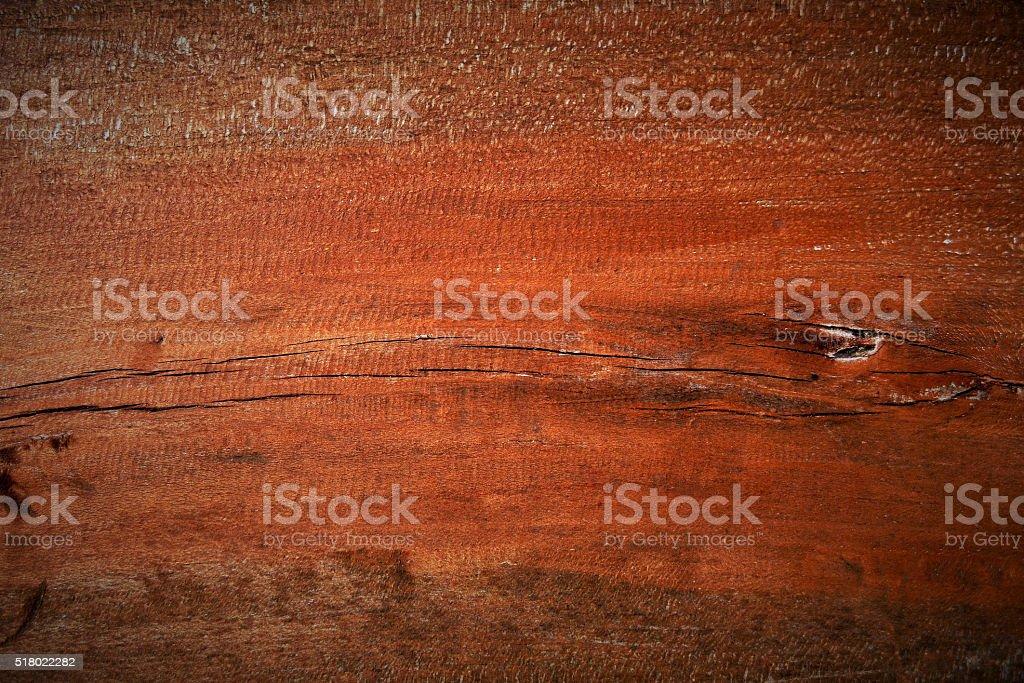 Beautiful wooden plank plastic coated. stock photo