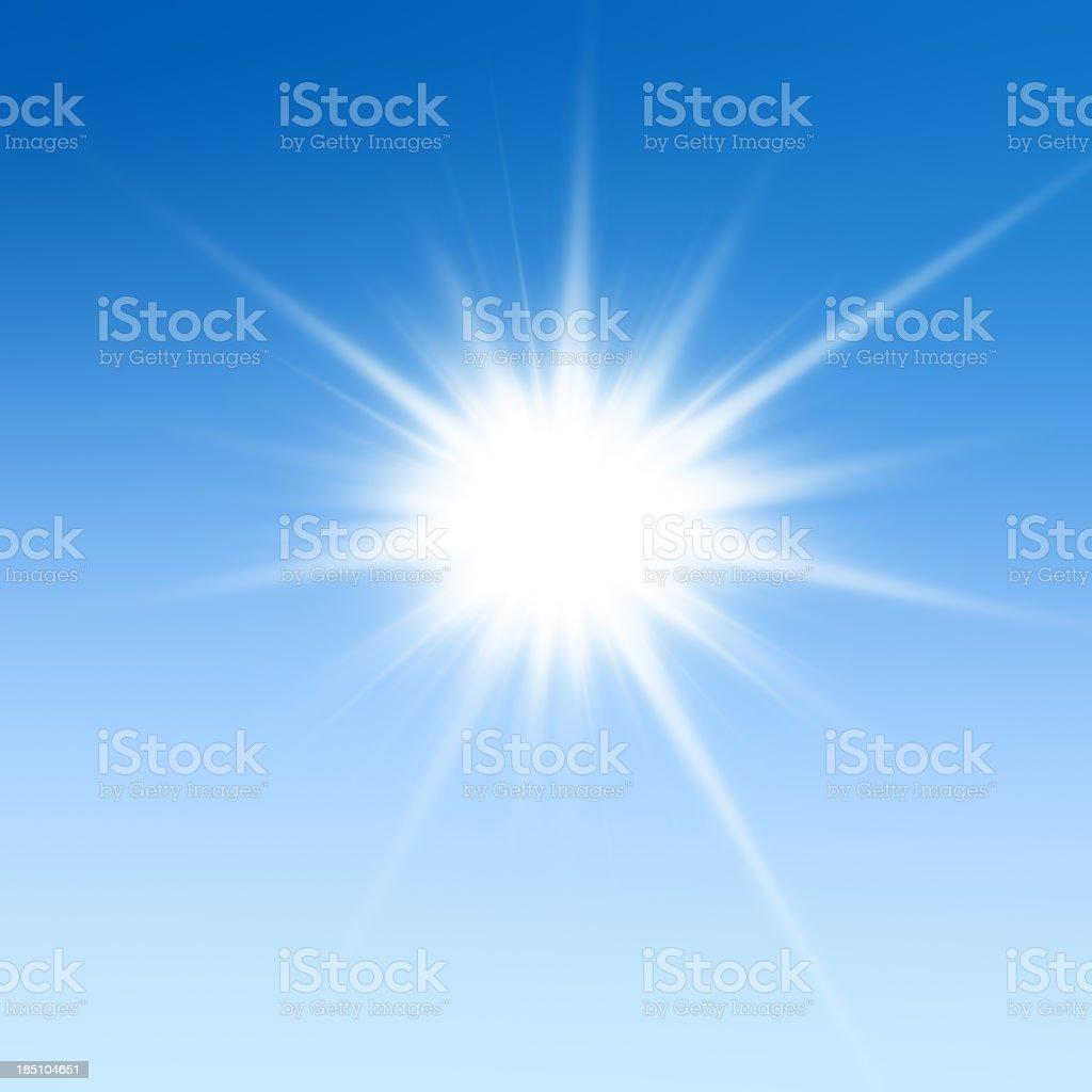 Beautiful XXXL starburst light background royalty-free stock photo
