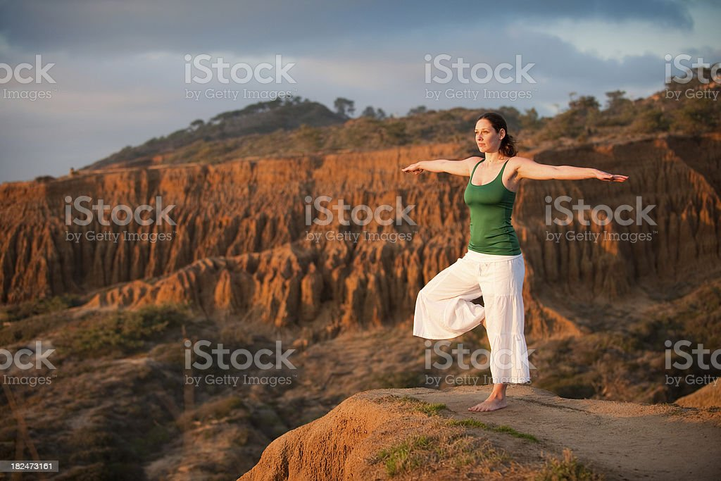 Beautiful Yoga royalty-free stock photo