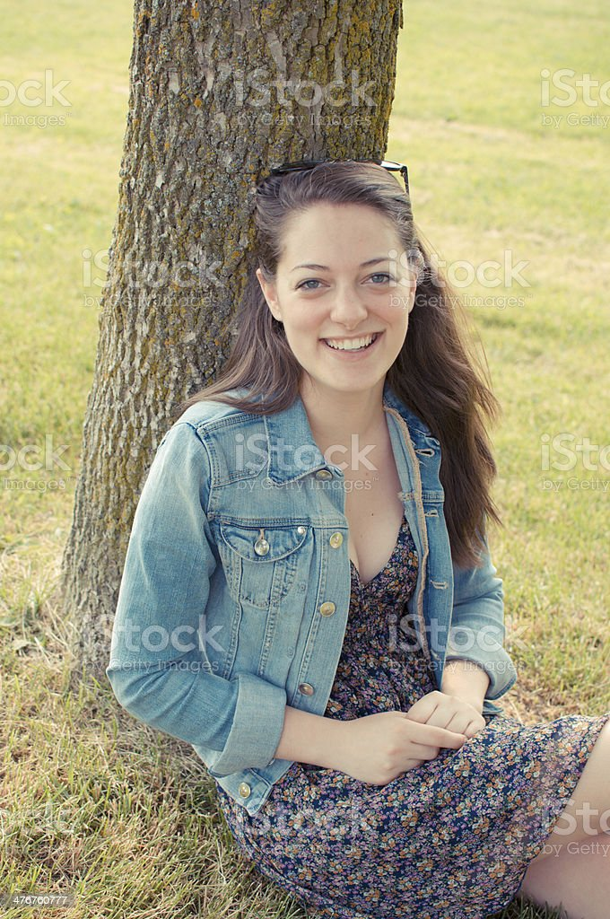 Beautiful Young Adult royalty-free stock photo