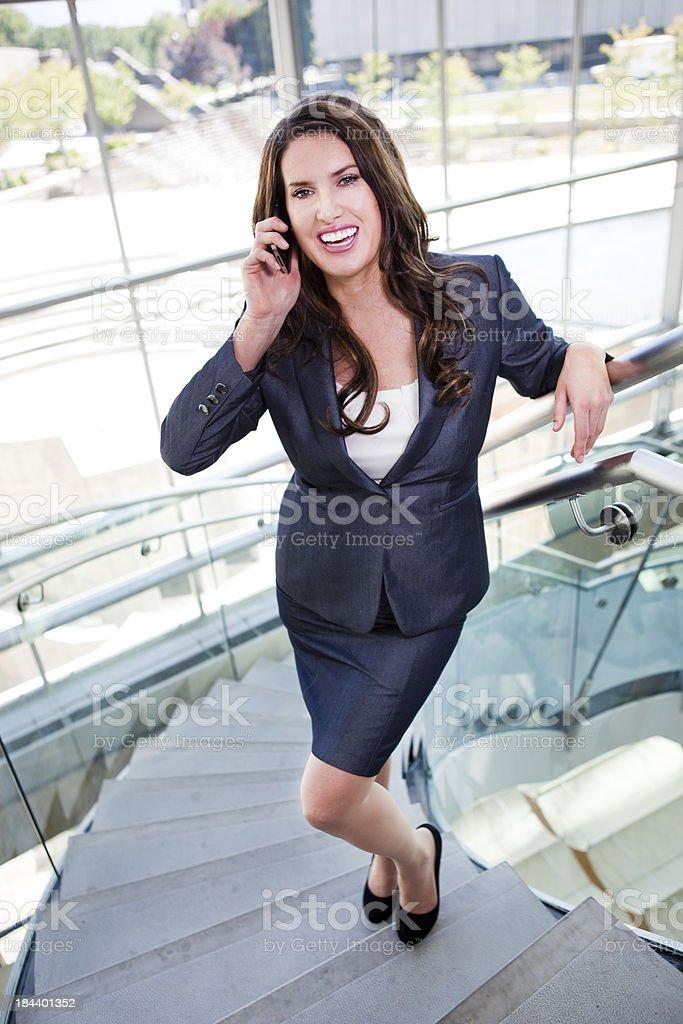 Beautiful Young Businesswoman stock photo