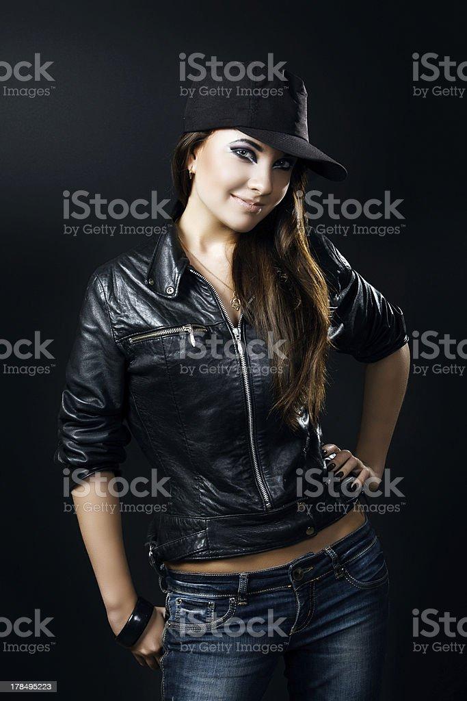 Schöne Junge Mädchen Lizenzfreies stock-foto