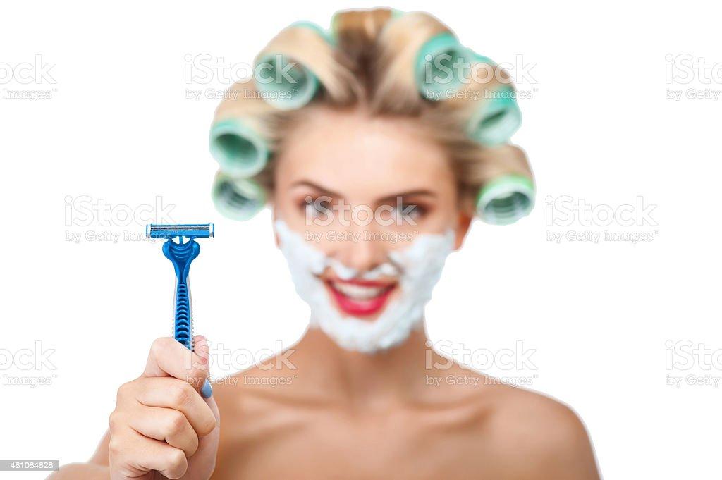 Брить ли светлые волосы