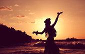 Beautiful Young Hula Dancer