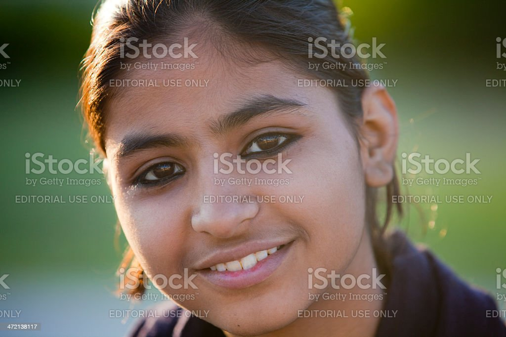 Beautiful young indian woman royalty-free stock photo