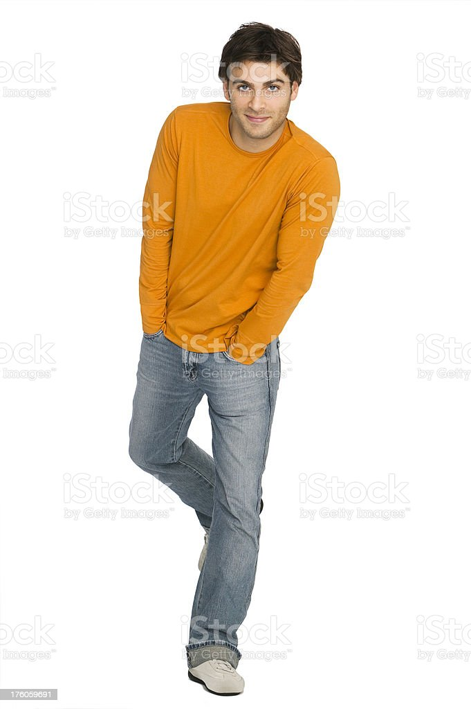 Beautiful Young man royalty-free stock photo