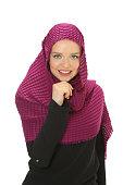 beautiful young modern muslim women