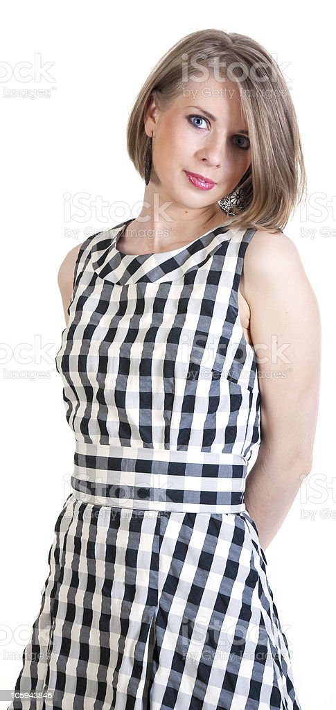 beautiful young sexy girl royalty-free stock photo