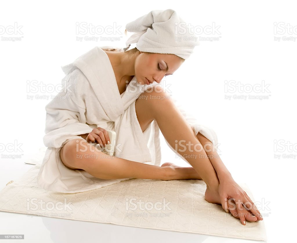 Beautiful Young Spa royalty-free stock photo