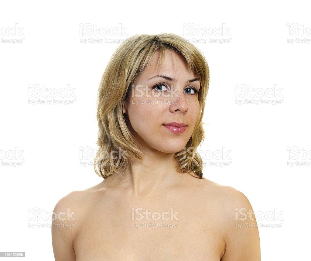 beautiful young woman royalty-free stock photo