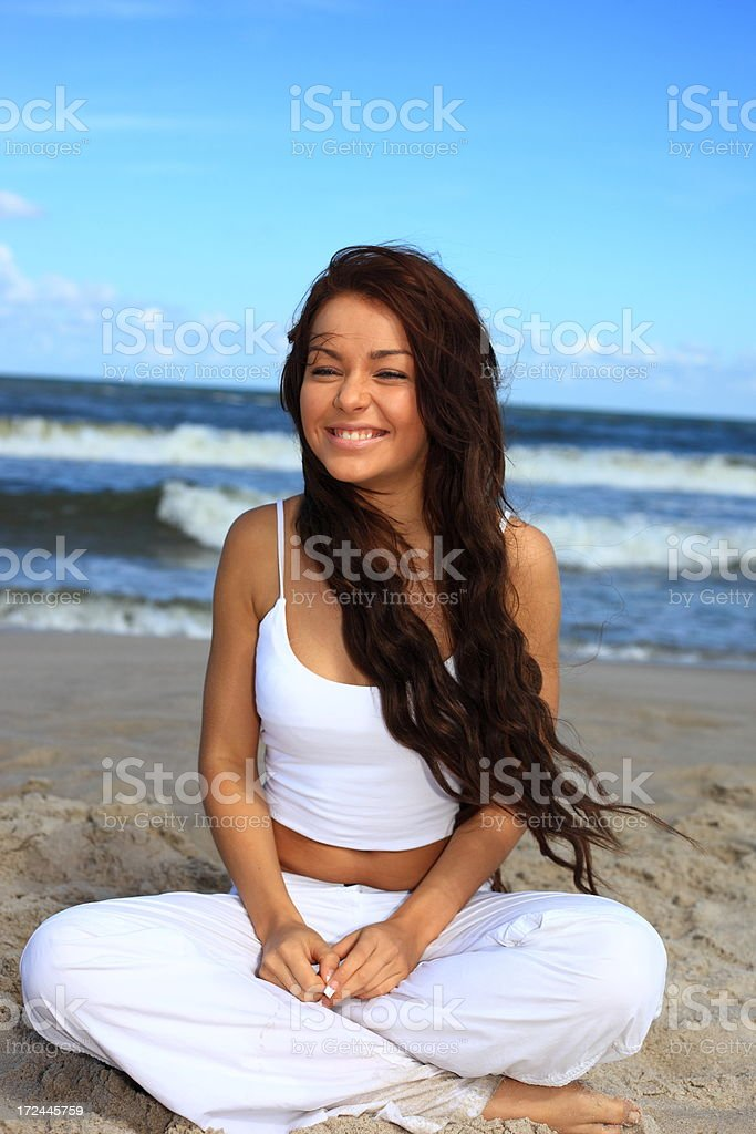 Beautiful Young Woman - portrait royalty-free stock photo