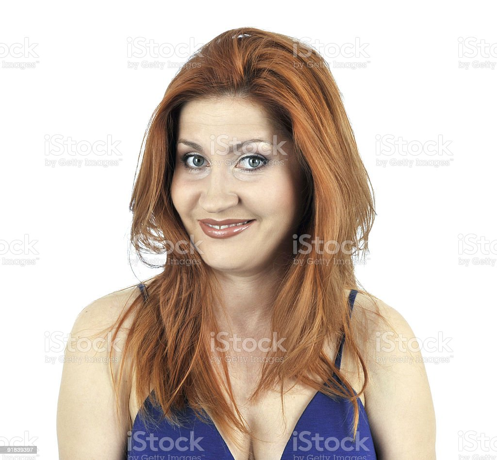Beautiful young woman portrait.See more!!! royalty-free stock photo