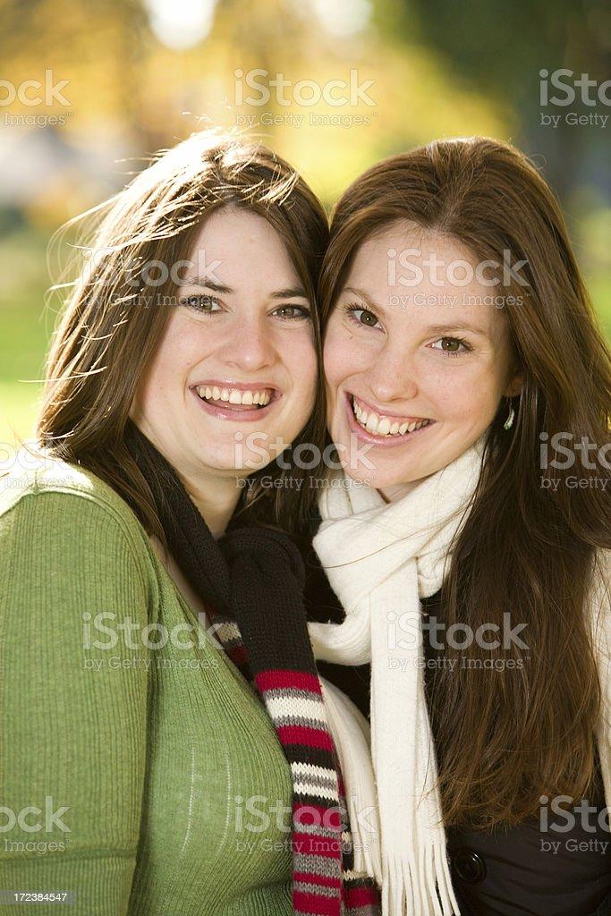 beautiful young women royalty-free stock photo