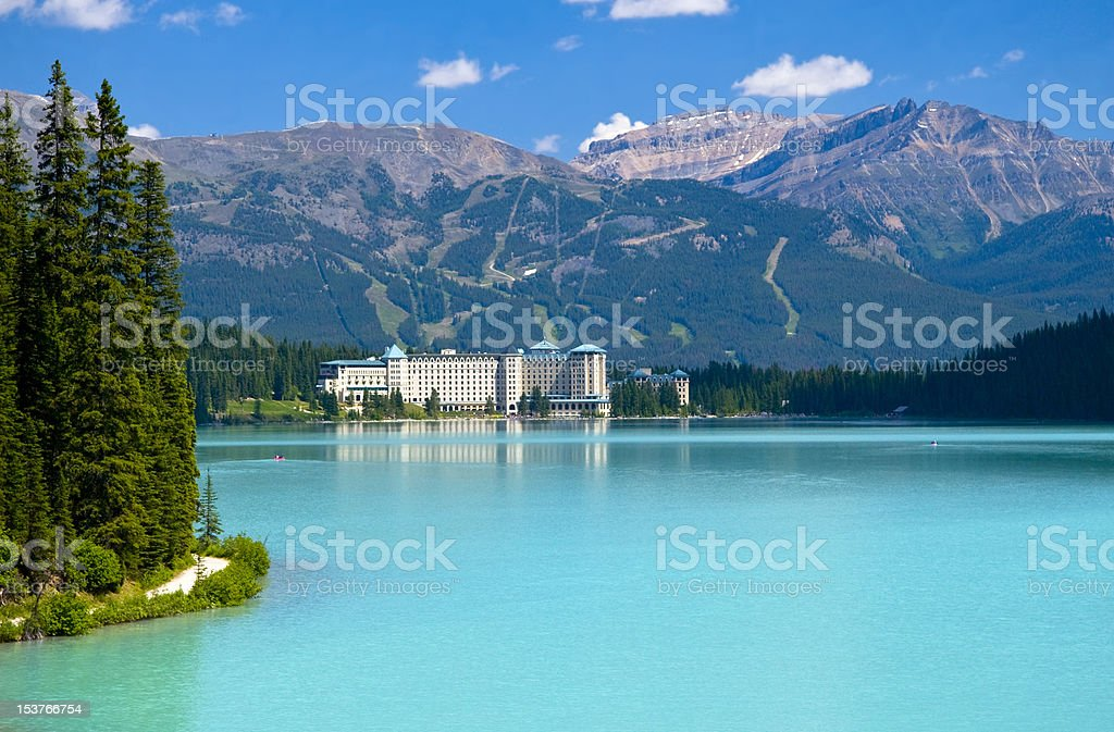 Beautifull mountain lake royalty-free stock photo