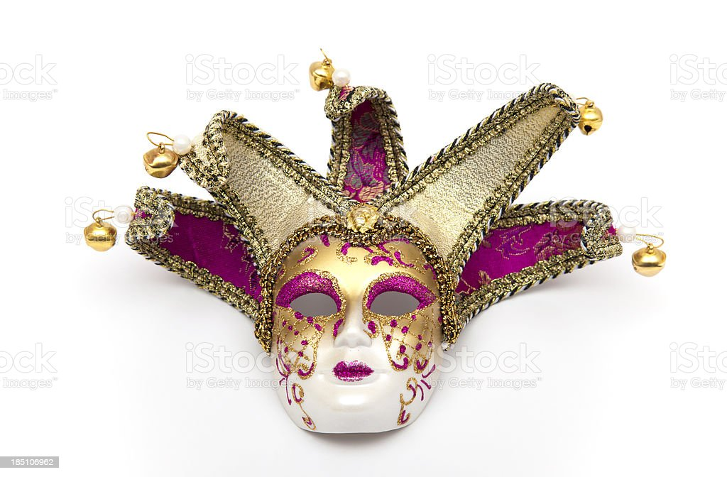 Beautifull venetian mask royalty-free stock photo