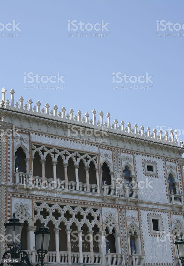Beautifully Decorated Building royalty-free stock photo