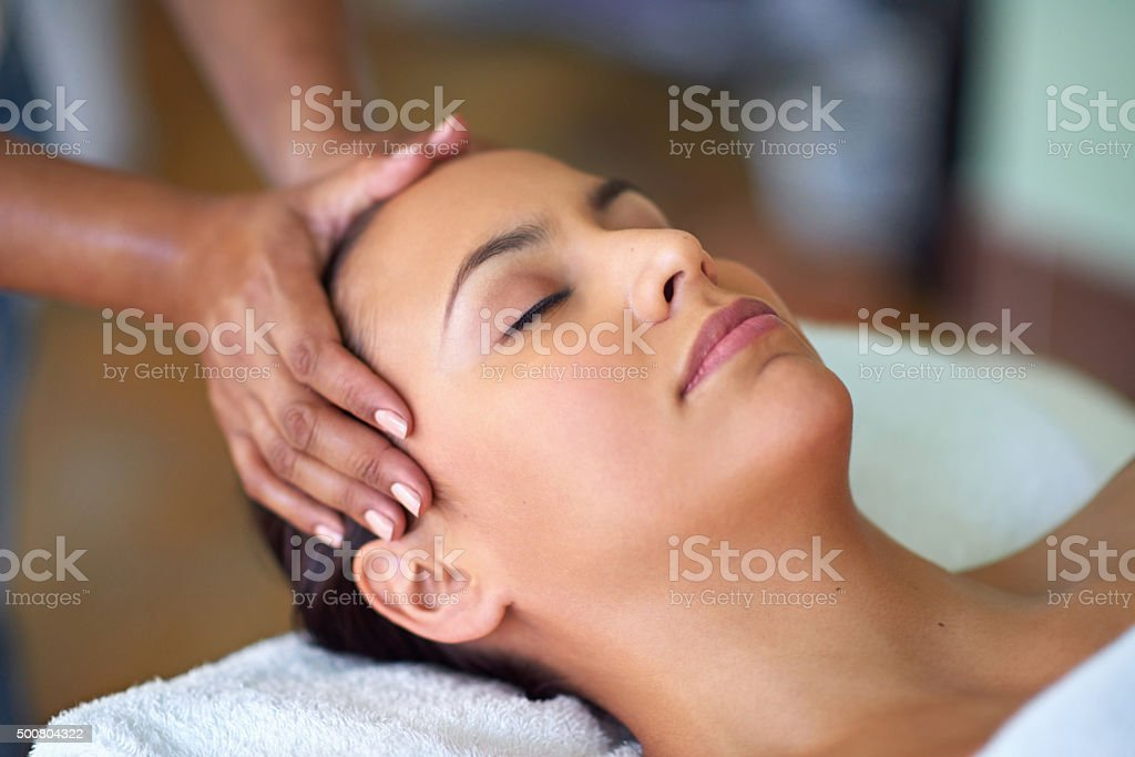 Beautify and spoil yourself stock photo