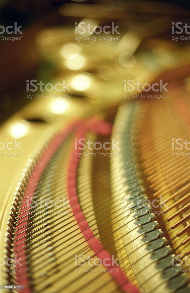 Beautility of the grand piano royalty-free stock photo