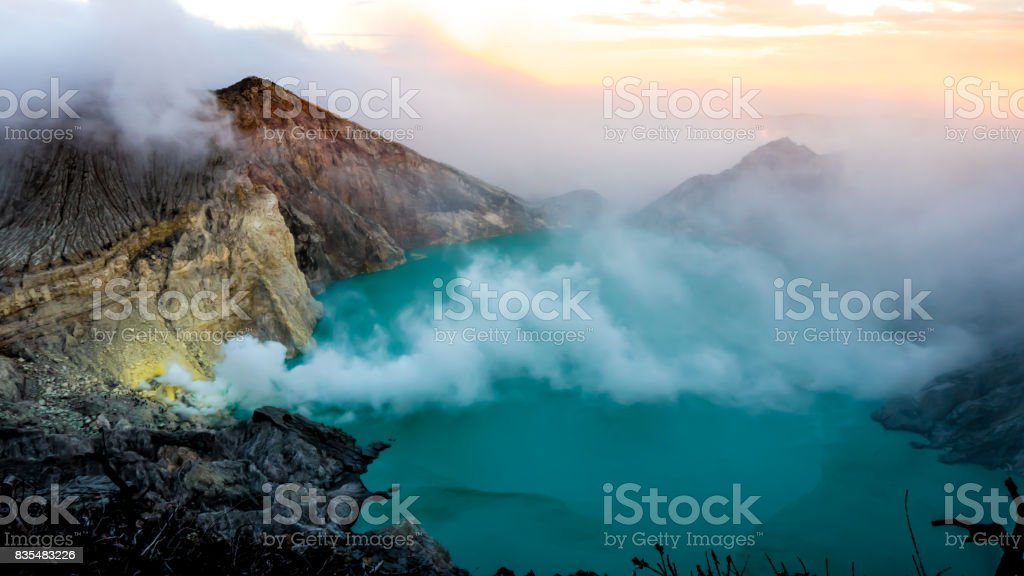 Beauty above the Clouds stock photo