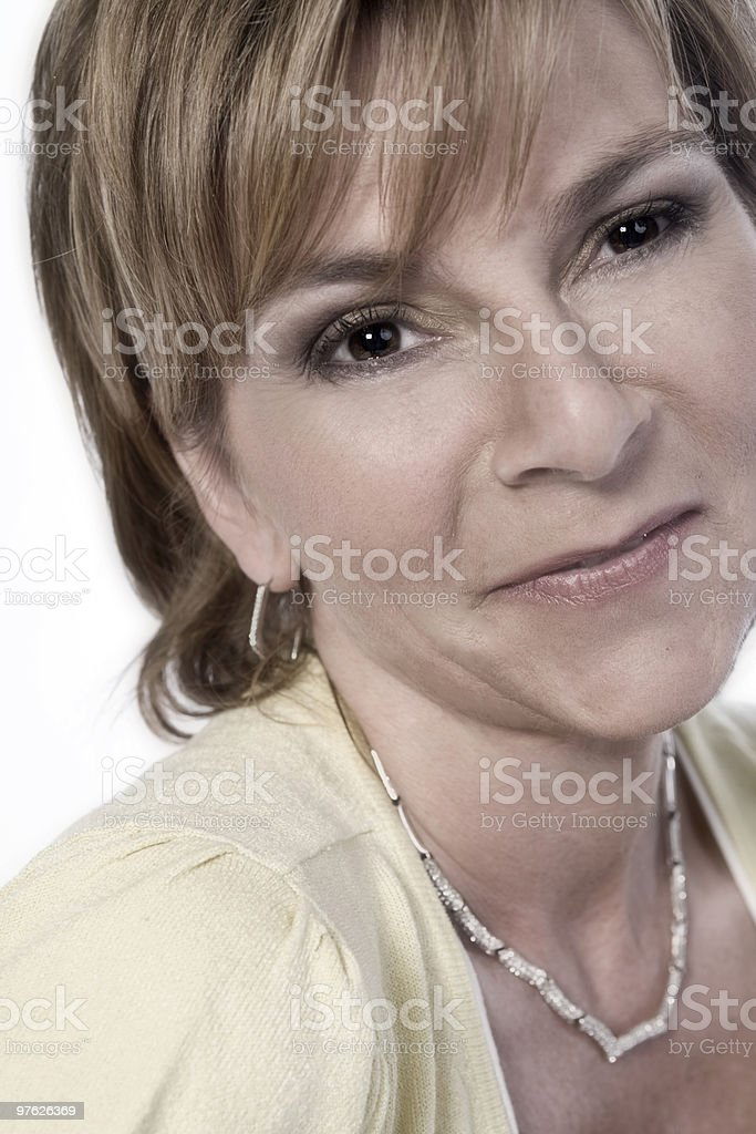 Beauty adult woman royalty-free stock photo