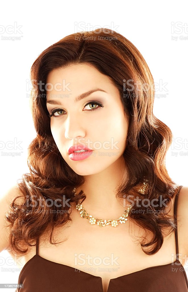 Beauty and Confidence royalty-free stock photo