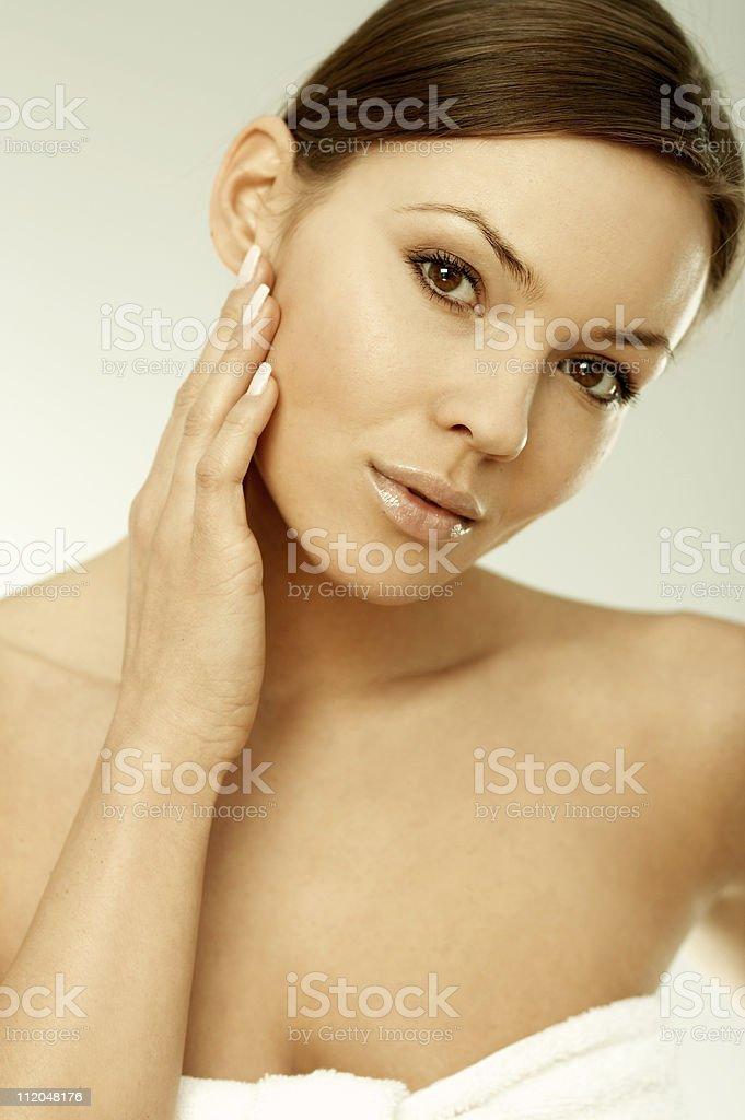 Beauty and Fresh MG royalty-free stock photo
