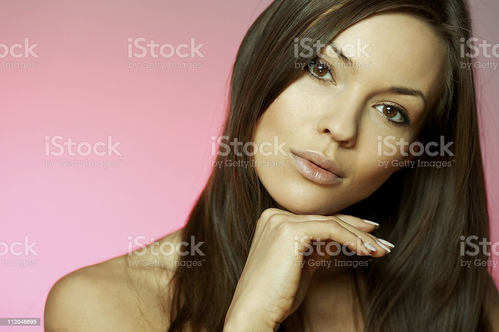 Beauty and Fresh royalty-free stock photo