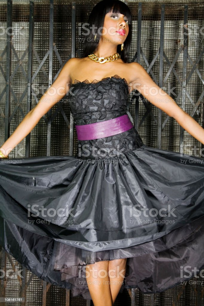 beauty and industry stock photo