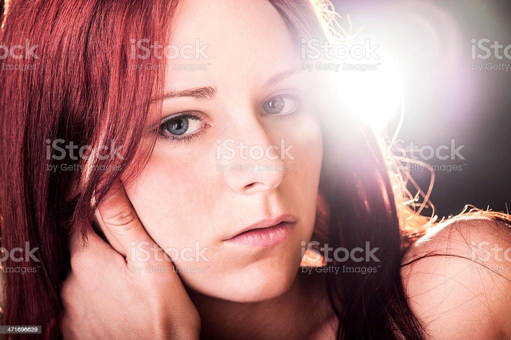 Beauty and light royalty-free stock photo