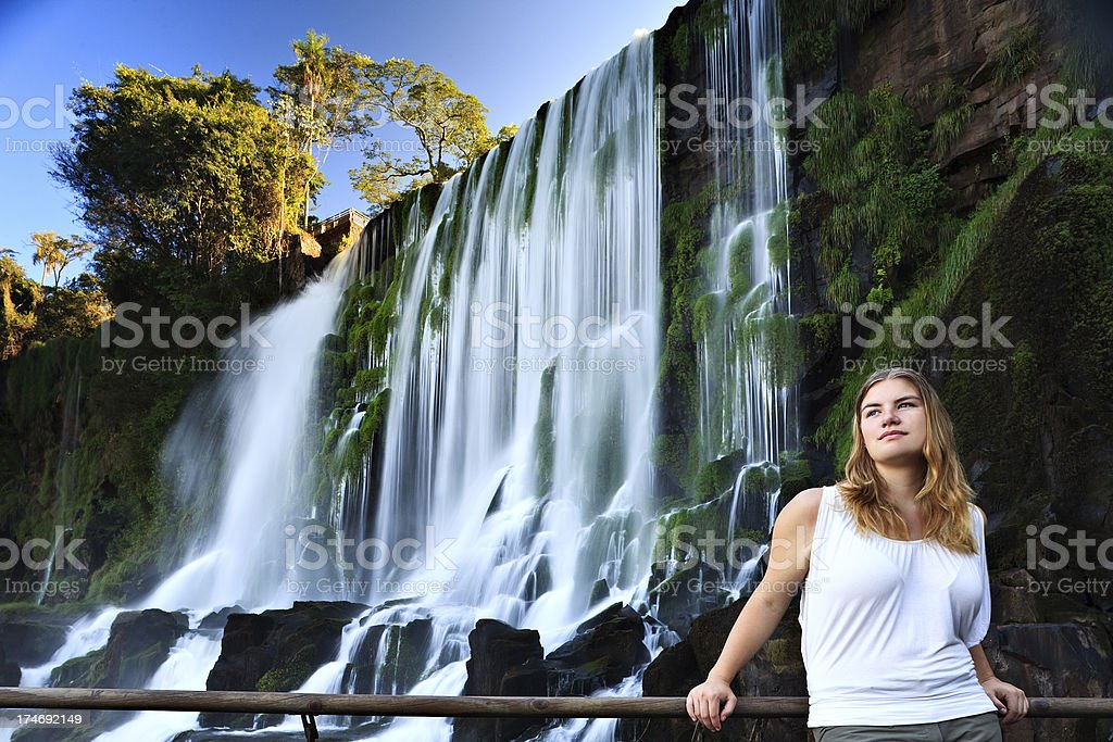 Beauty and Nature stock photo