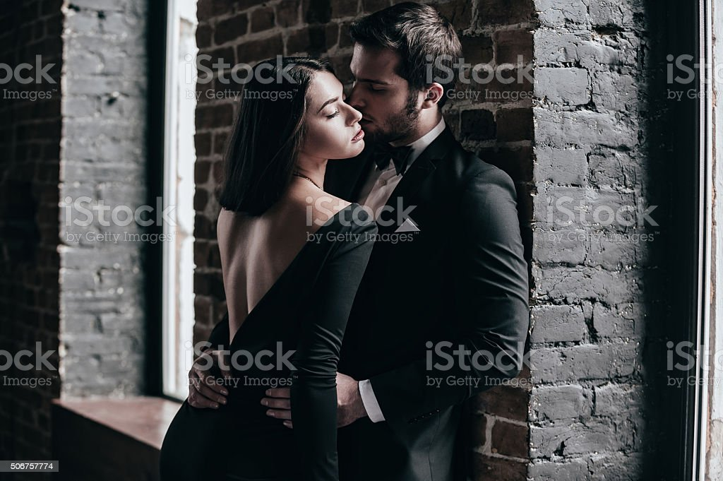 Beauty and passion. stock photo