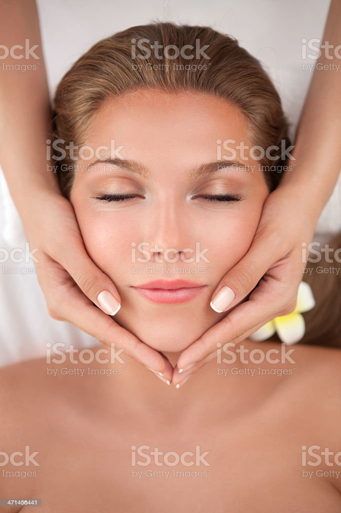 Beauty and relax time. royalty-free stock photo