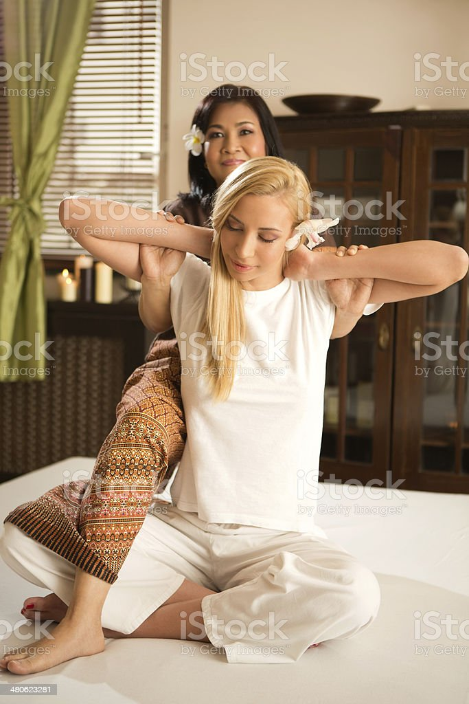 Beauty and relax time. stock photo