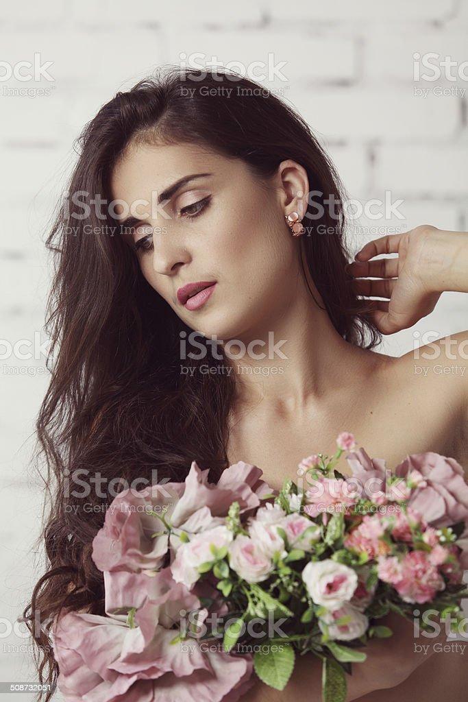 Schönheit und Sinnlichkeit Lizenzfreies stock-foto