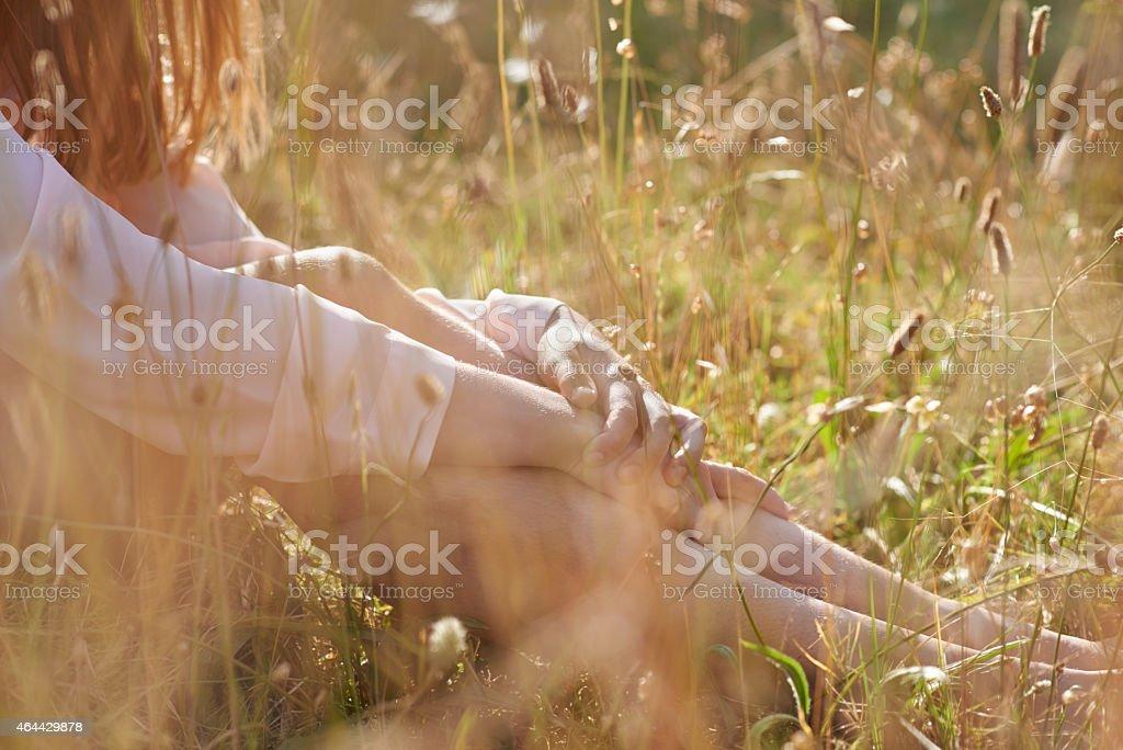 Beauty and serenity stock photo