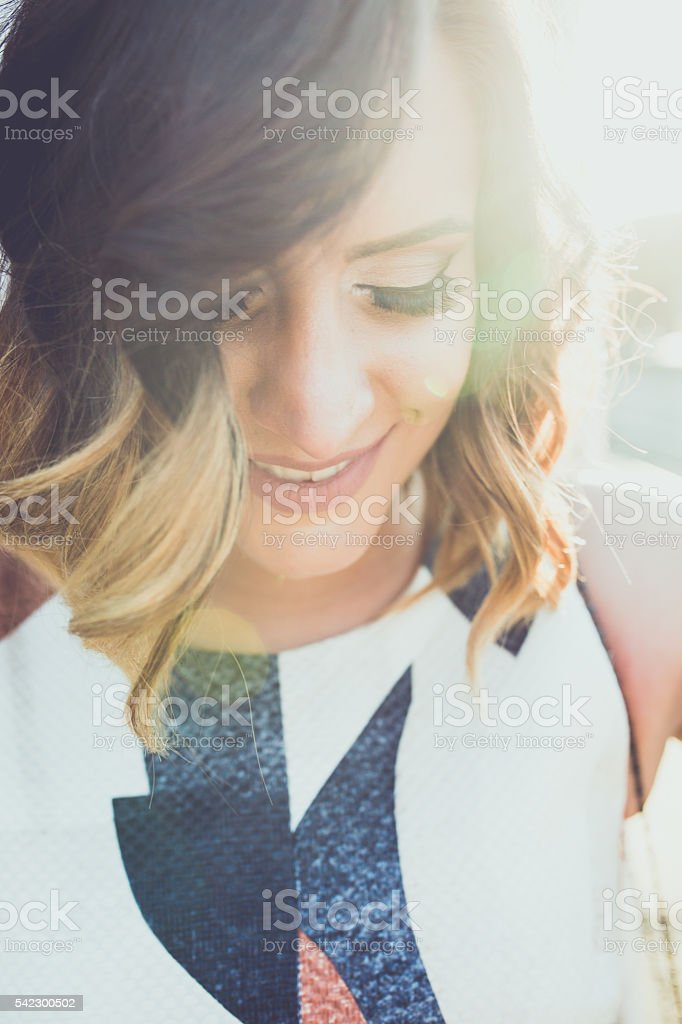 Beauty and style stock photo