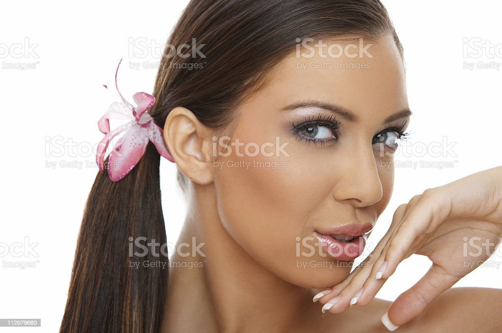 Beauty and sweet royalty-free stock photo