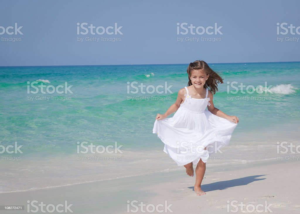 Beauty and the Beach royalty-free stock photo
