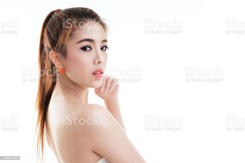 Beauty Asian Girl Portrait. Lizenzfreies stock-foto