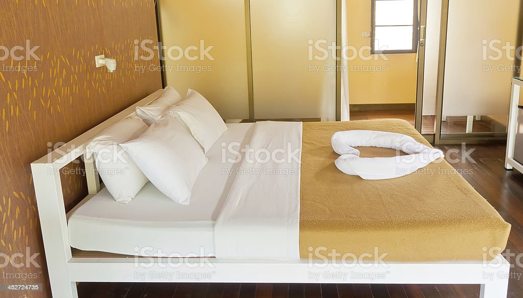 Beauty bedroom royalty-free stock photo